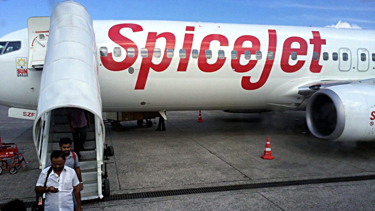 SpiceJet brachte uns zu und zum Glück auch von den Andamanen in Indien. (Foto: Ruti)