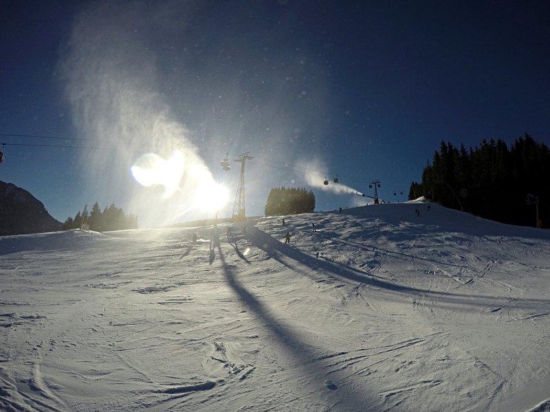 Zum Jahreswechsel 2015 auf 2016 ist das Skigebiet Ski Amadé ein Kunstschneeparadies. (Foto: Ruti)