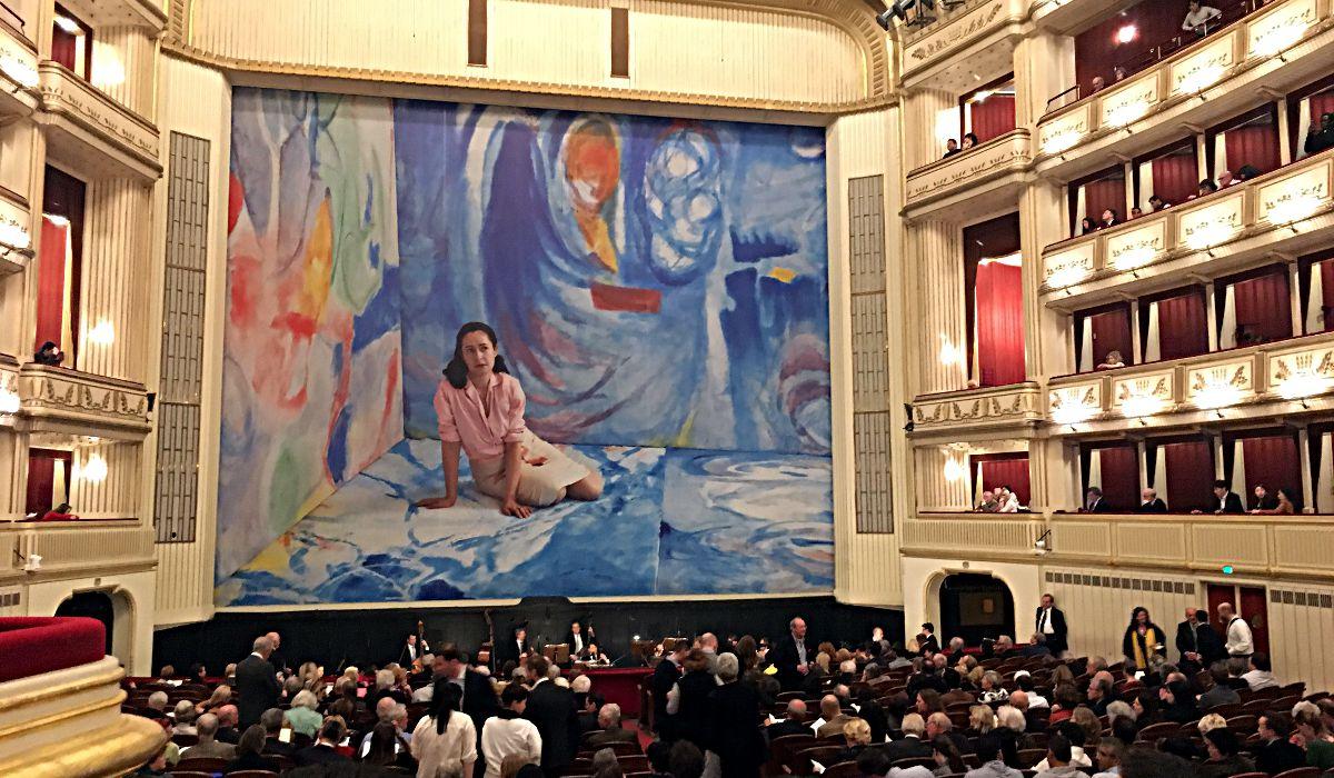 Der Saal im Opernhaus in Wien (Foto: Ruti)