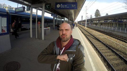 Bei der Ankunft in Wien sind die Deutsche Bahn und ich endgültig Buddys for Life. (Foto: Ruti)