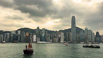 Die Skyline von HongKong ist atemberaubend. (Foto: Ruti)