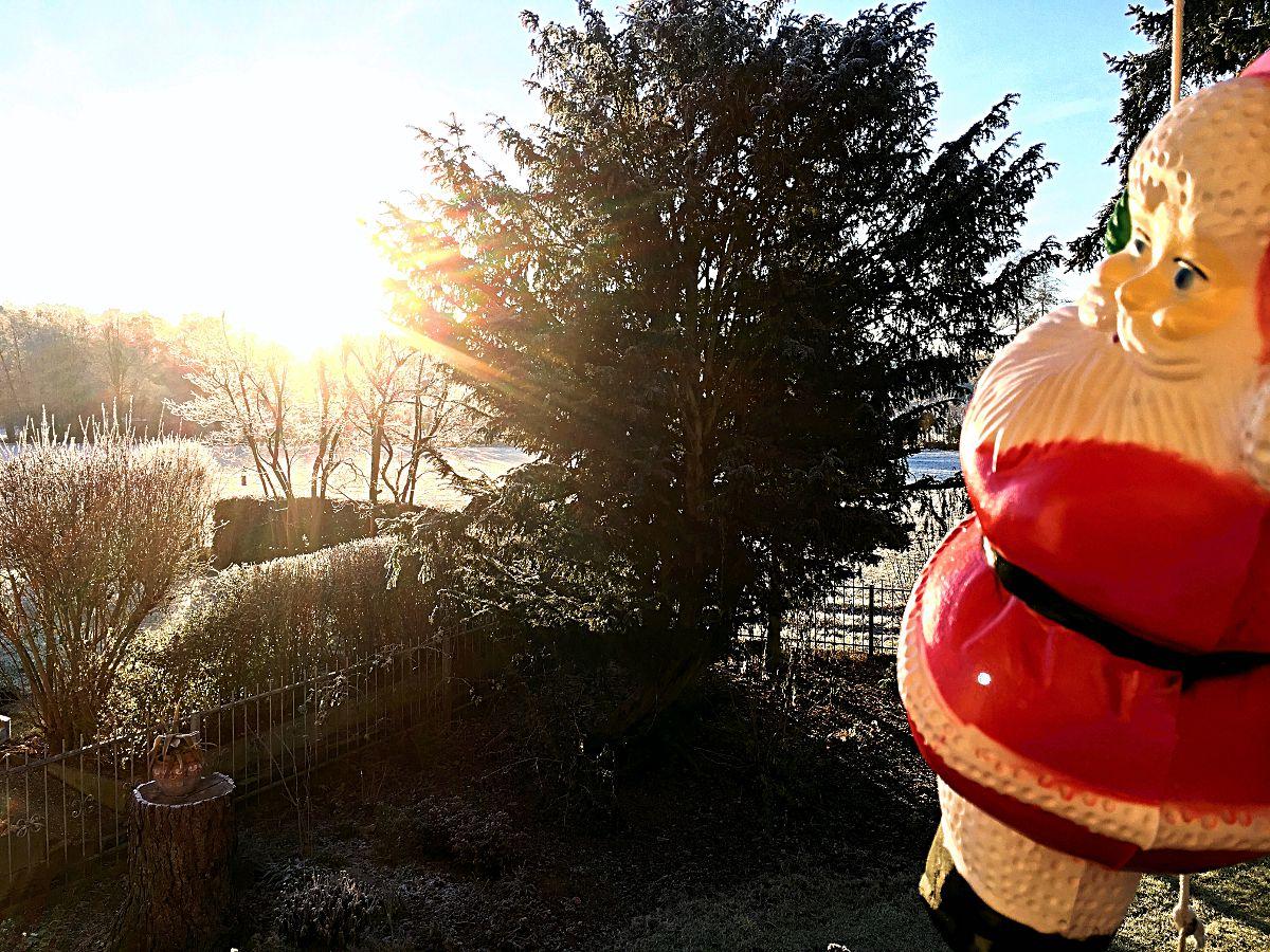 Zu Weihnachten war ich wieder in Deutschland. (Foto: Ruti)