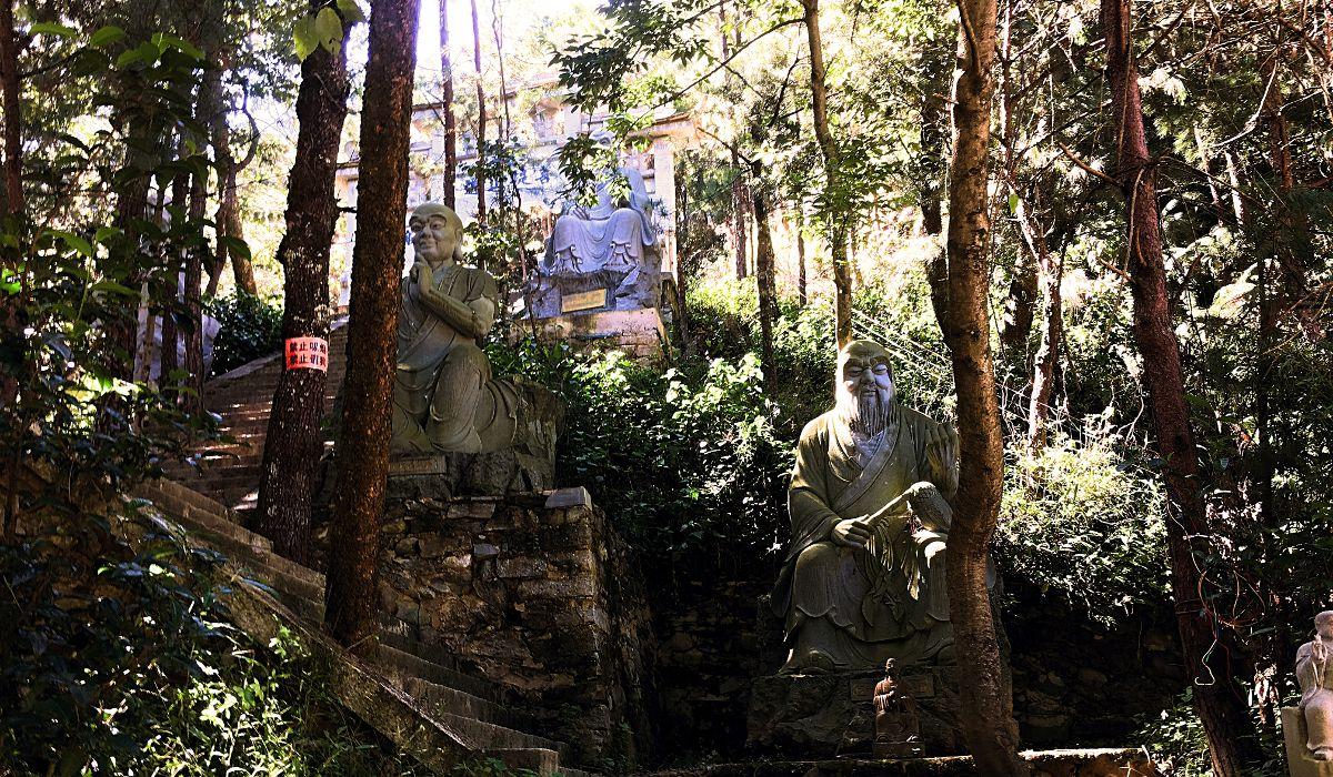 Im chinesischen Dali war ich ein paar Tage im Kung-Fu-Tempel. (Foto: Ruti)