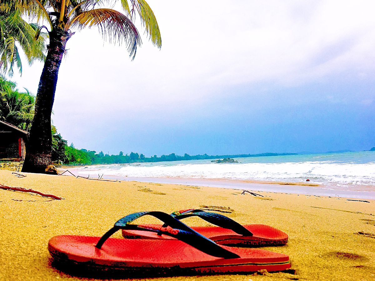 Ngapali Beach ist der bekannteste Strand in Myanmar. (Foto: Ruti)