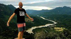 König der Welt hoch über Laos in Nong Khiaw (Foto: Ruti)