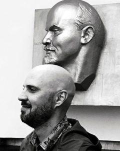 """Lenin und, wie ein Freund von mir sagte, """"Rutin"""". (Foto: Ruti)"""