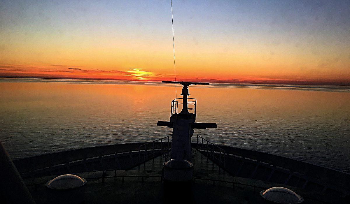 Auf dem Schiff Richtung Schweden war der Ausblick ganz nett. (Foto: Ruti)
