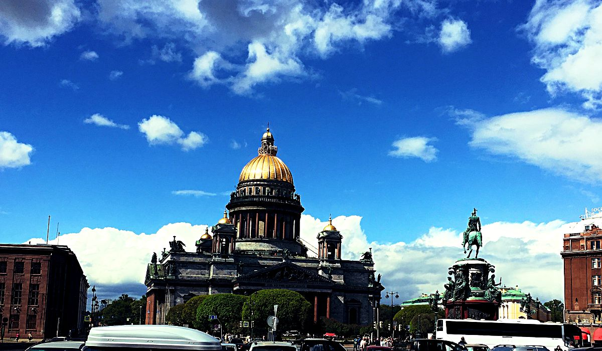 Die Isaakskathedrale in St. Petersburg (Foto: Ruti)