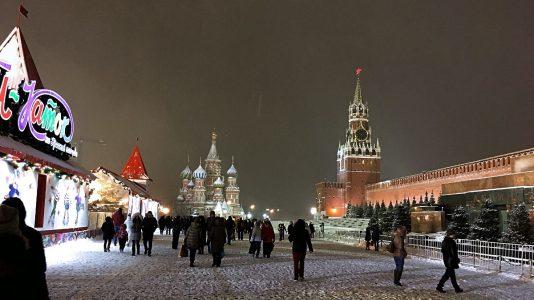 Der Rote Platz in Moskau im Winter (Foto: Ruti)