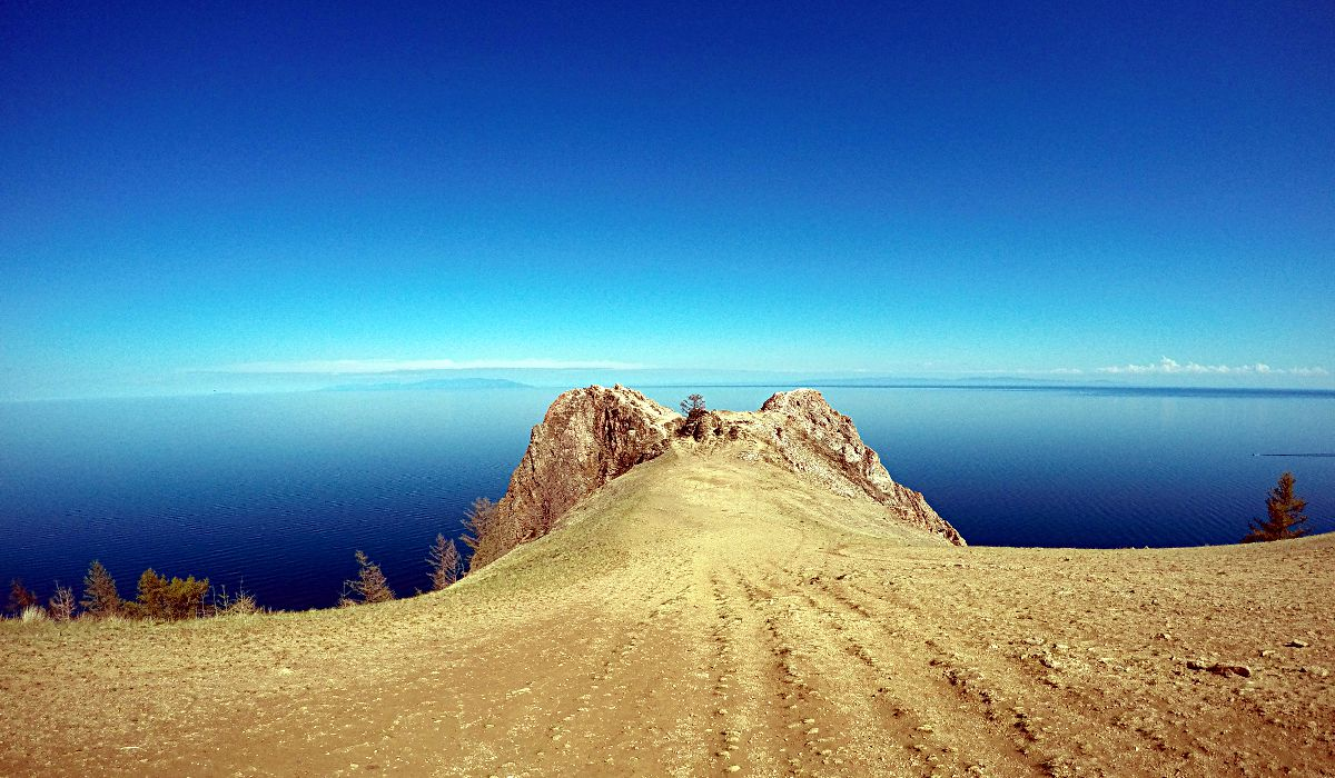 Ein Blick über den Baikalsee (Foto: Ruti)