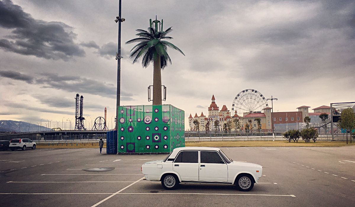 Im Olympiapark in Sotschi kann man das ein oder andere coole Motiv erhaschen. (Foto: Ruti)