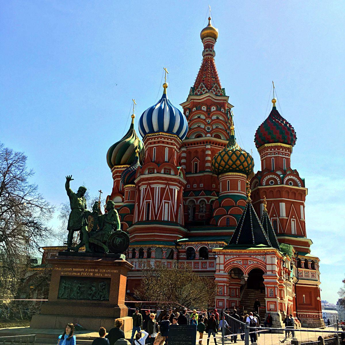 Die Basilius-Kathedrale in Moskau ist das bekannteste Bauwerk Russlands. (Foto: Ruti)