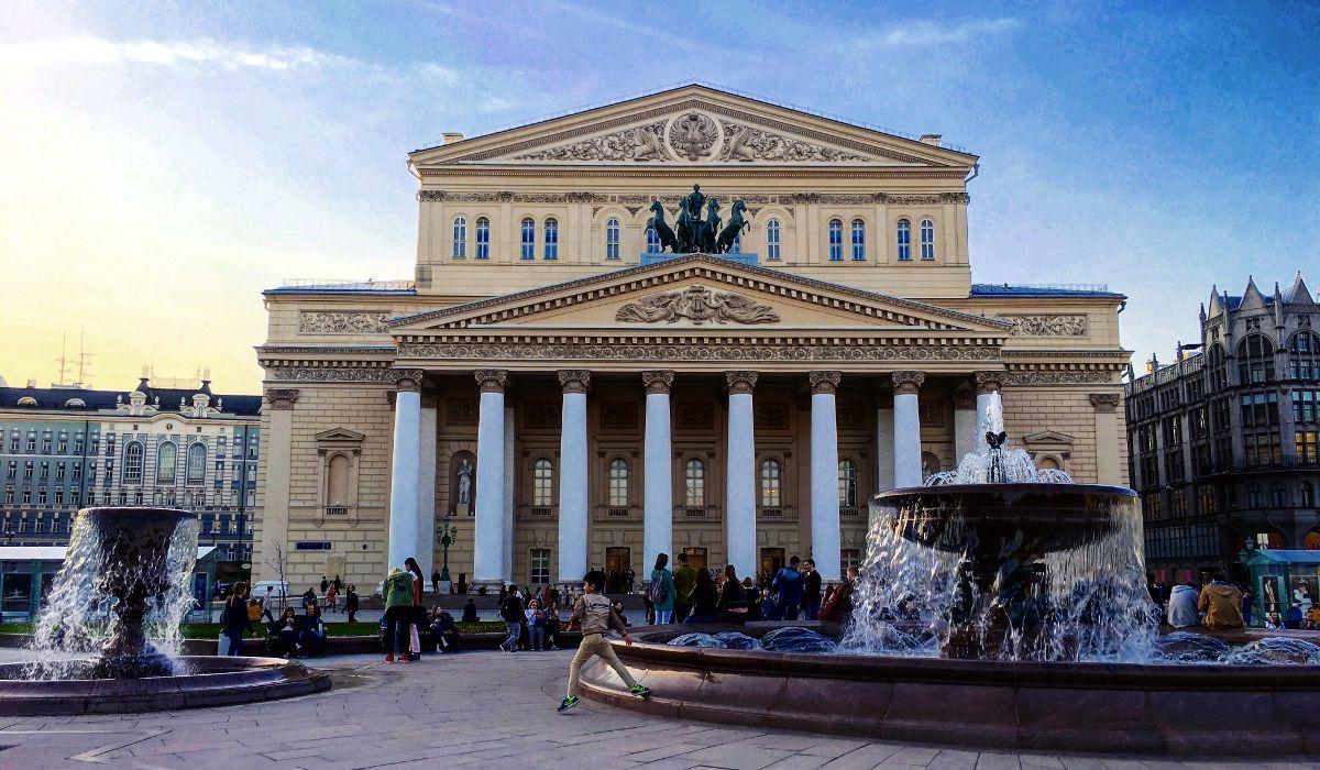 Das Bolshoi-Theater in Moskau (Foto: Ruti)
