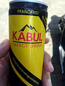 Kabul, Energy Drink, Deutschland 2015 (Foto: ruti)