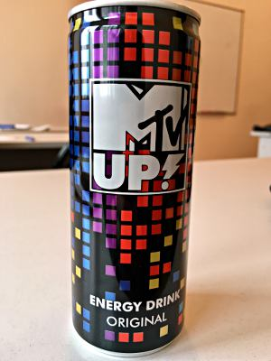 MTV UP! Energy Drink, Original, Russland 2017 (Foto: Ruti)
