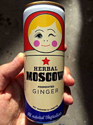Herbal Moscow, Fermented Ginger, Ingwer-Limette (Ginger Beer), Russland 2017 (Foto: Ruti)