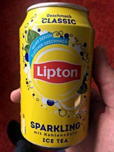 Lipton Sparkling Ice Tea, Deutschland 2017 (Foto: Ruti)