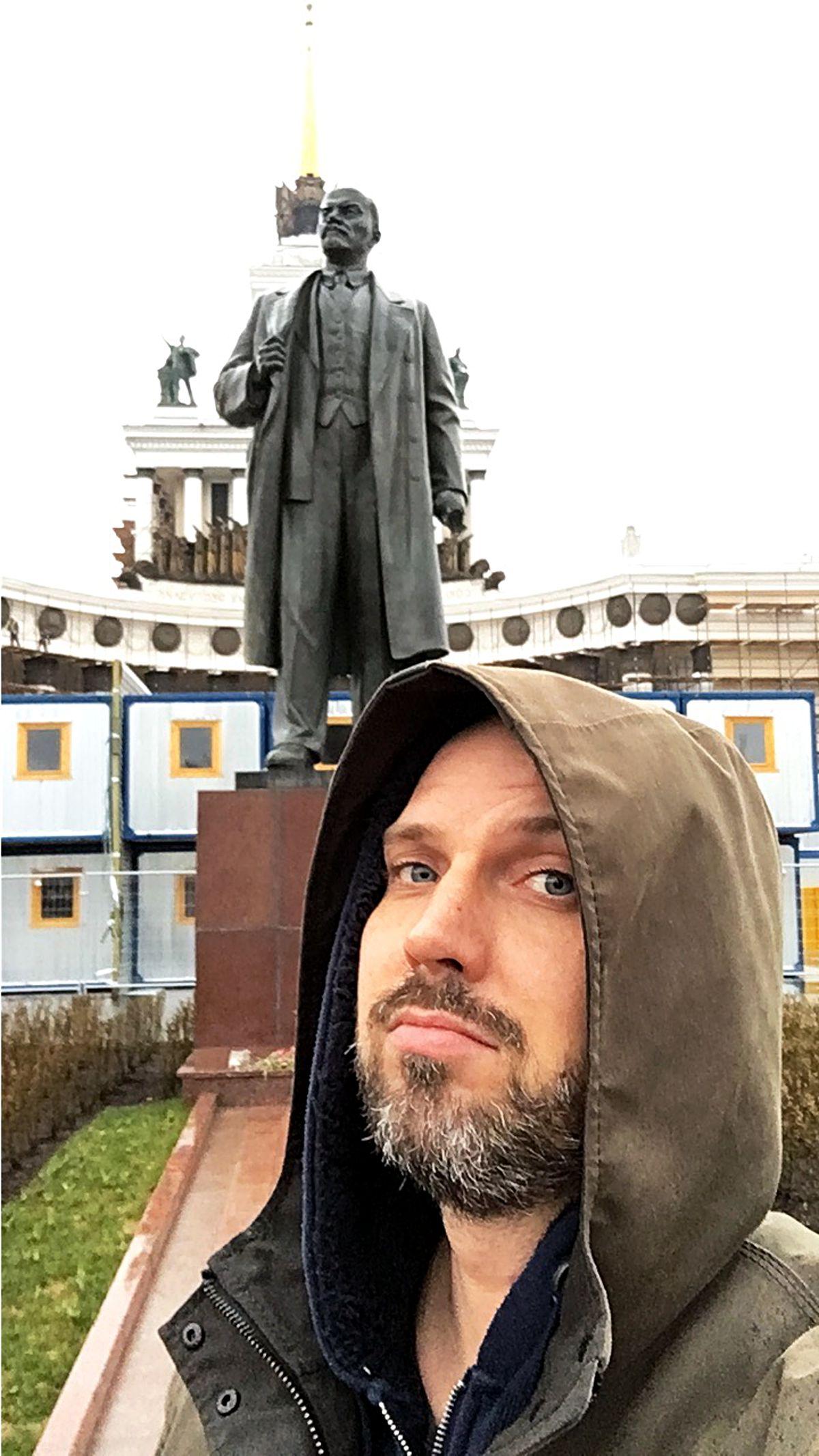 Lenin (hinten) und Rutin, wie ein Freund Mark W. einmal sagte - schlechte Wortspiele erfinde ich nicht nur selber. (Foto: Ruti)