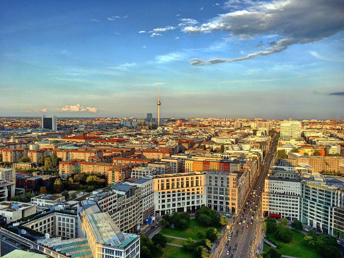 Berlin von oben (Foto: Ruti)