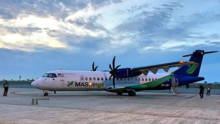 Flüge mit einem Turboprop-Flugzeug sind immer etwas Besonderes. (Foto: Ruti)