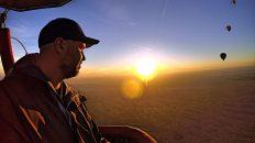 Eine Ballonfahrt in Dubai ist zwar nicht das günstigste Unternehmen, aber es lohnt sich total. (Foto: Ruti)