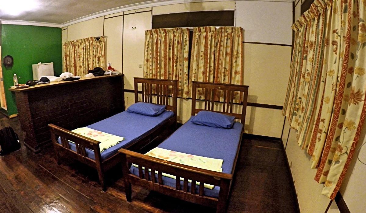 Unsere Hütte war bereits die Luxusvariante im Bako-Nationalpark. (Foto: ruti)