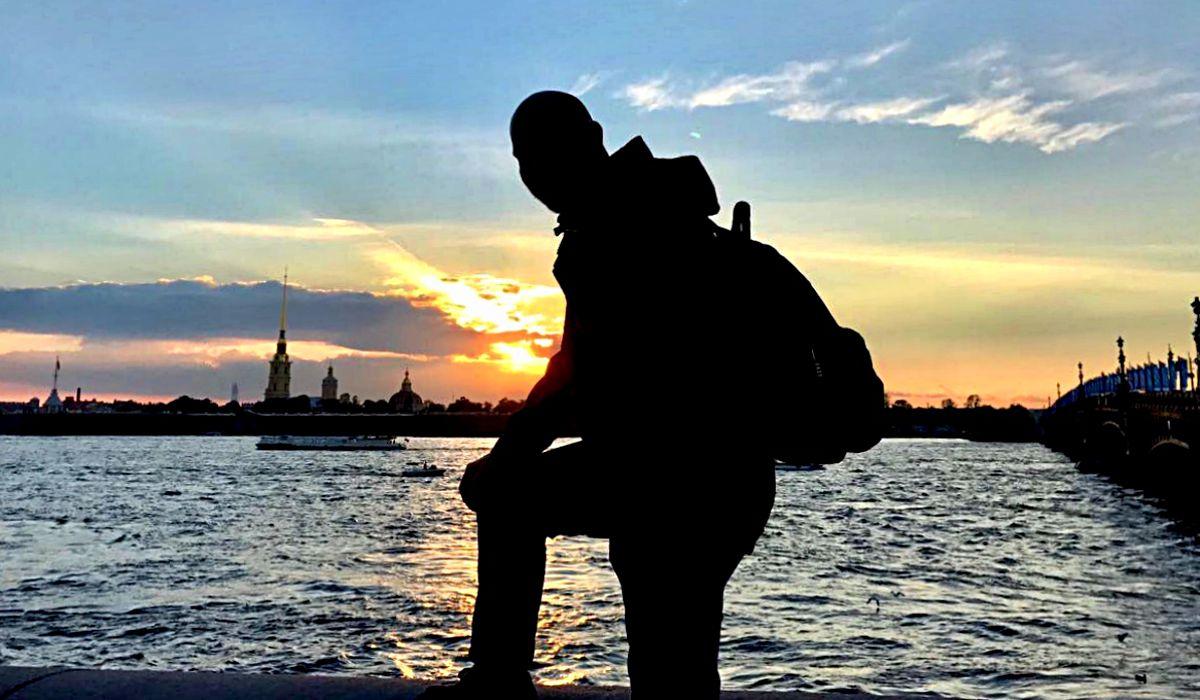 Die White Nights im Juni in St. Petersburg haben ziemlich geile und vor allem unendliche Sonnenuntergänge. (Foto: Ruti)
