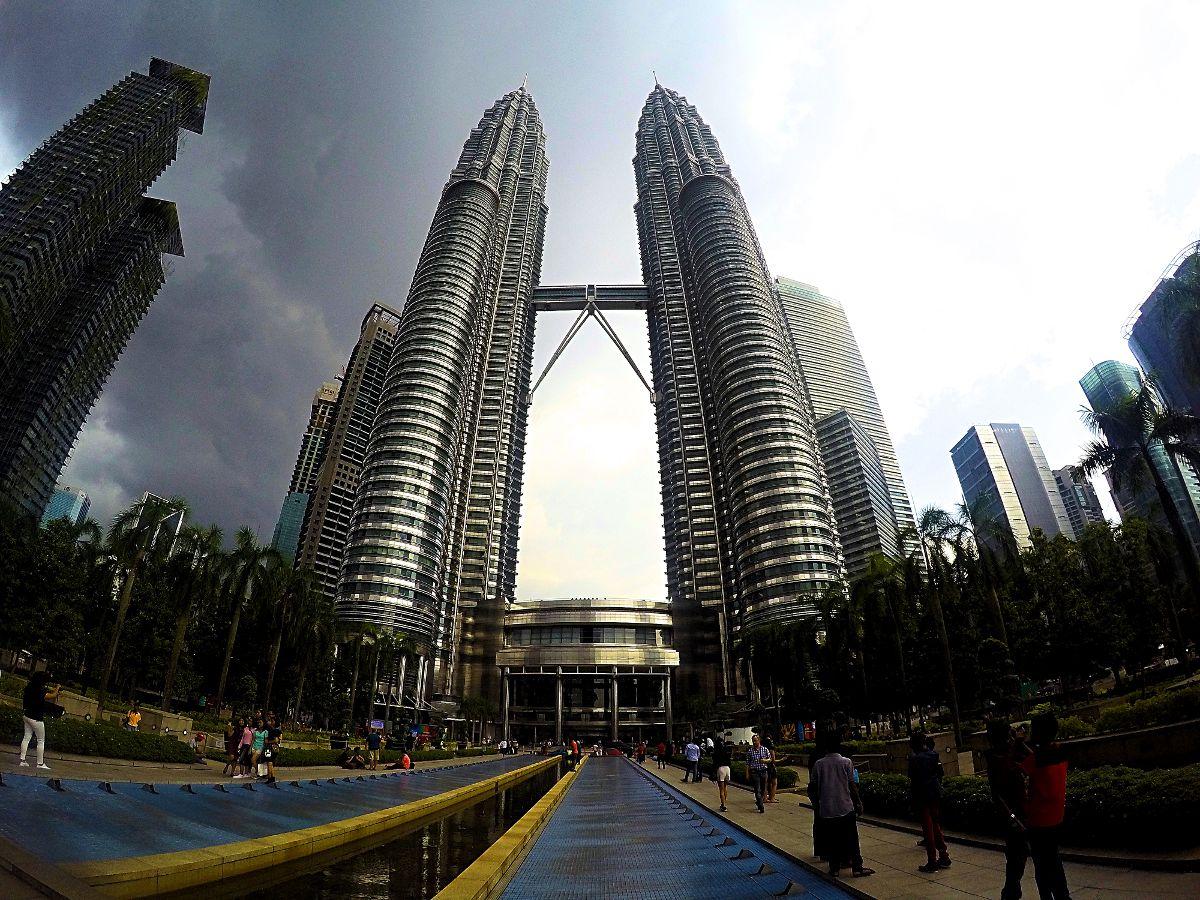 Die Petronas-Twin-Towers sind das Wahrzeichen der malaysischen Hauptstadt Kuala Lumpur. (Foto: Ruti)