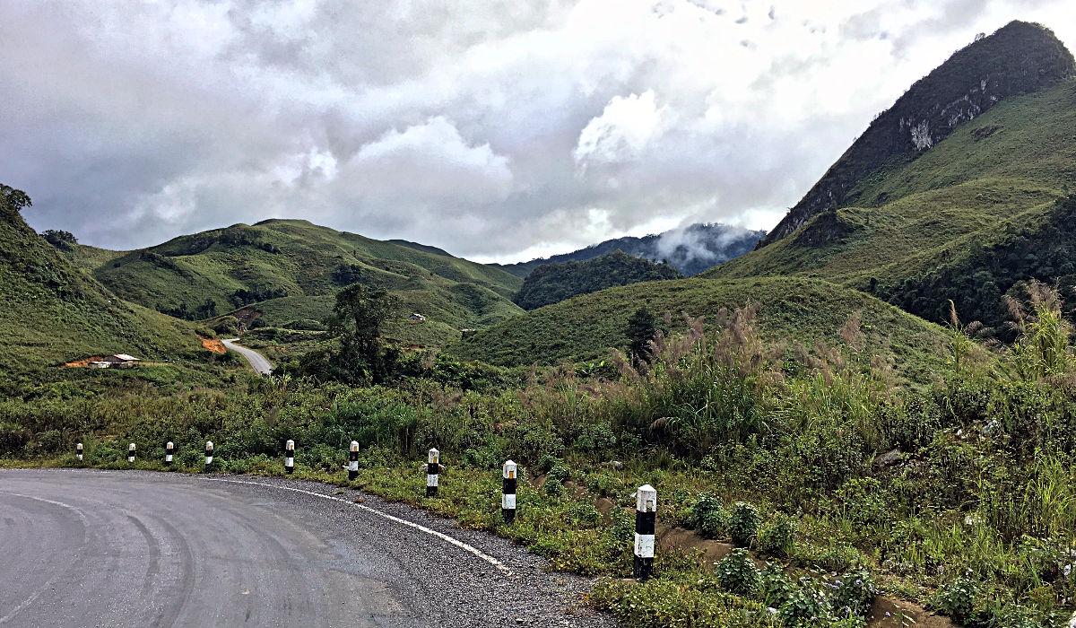 Sieht hübsch aus, war aber ziemlich kalt auf dem Gebirgsplateau in Zentral-Laos. (Foto: Ruti)