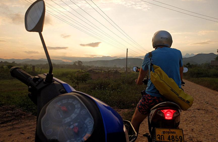 Mit dem Mottorrad durch Laos - ein Abenteuer für die Ewigkeit (Foto: Ruti)