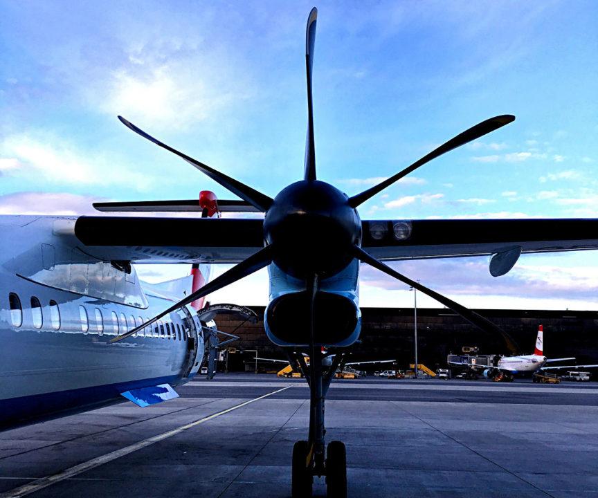 Fliegen mit einem Propeller-Flugzeug - auch im Jahr 2018 noch möglich. (Foto: Ruti)