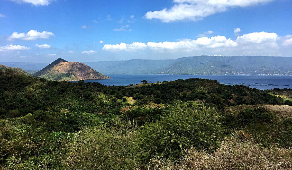 Auch der Blick über die Insel ist hübsch. (Foto: Ruti)
