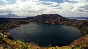 Der Taal Vulkan auf den Philippinen ist ein echter Hingucker. (Foto: Ruti)