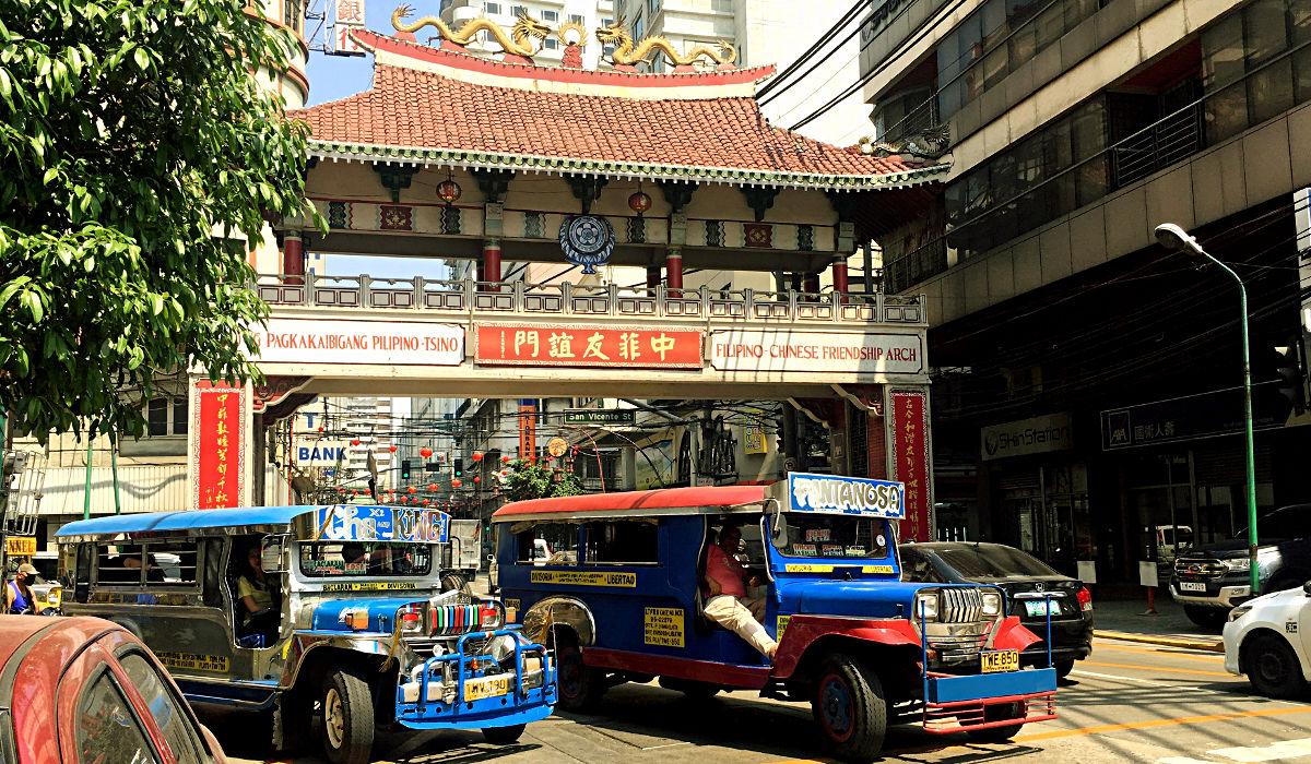 Das Chinatown in Manila ist vielleicht nicht das coolste der Welt, aber dafür das älteste. (Foto: Ruti)
