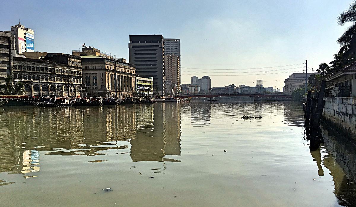 Eine Schönheit ist Manila nicht, aber für einen Sightseeing-Tag interessant genug. (Foto: Ruti)