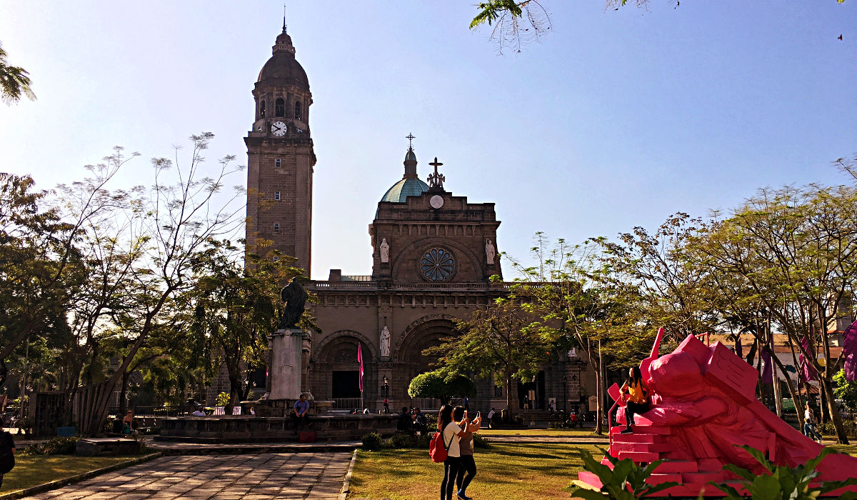 Die Kathedrale in Manila (Foto: Ruti)