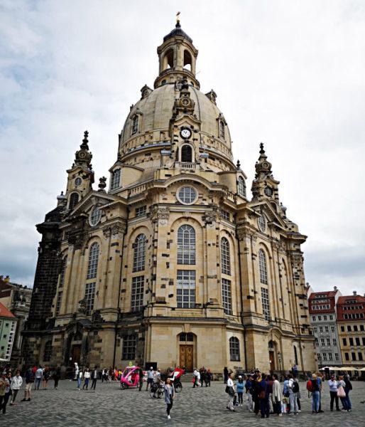 Die Dresdner Frauenkirche in ihrer ganzen Pracht. (Foto: Ruti)