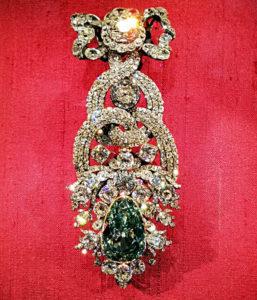 Der Grüne Diamant ist eines der Highlights im Residenzschloss von Dresden. (Foto: Ruti)