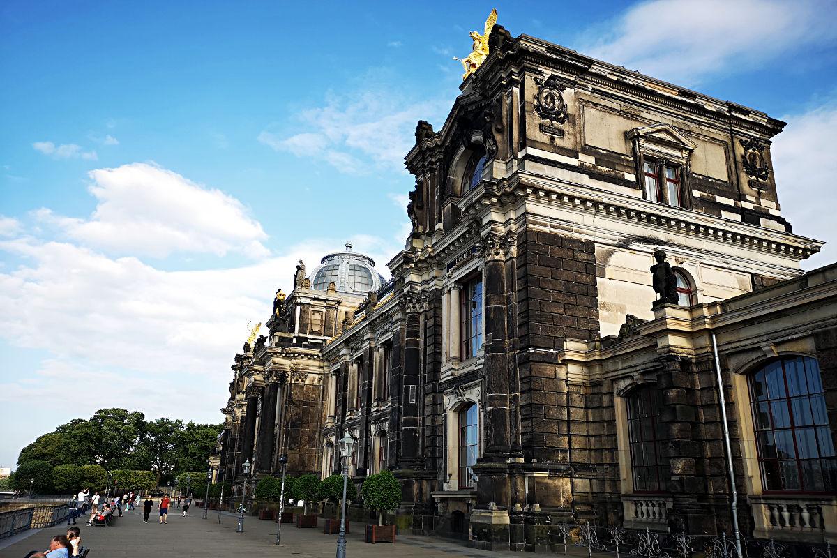 Die Kunstakademie in Dresden (Foto: Ruti)