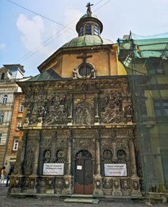 Die Boim-Kapelle im Herzen von Lemberg. (Foto: Ruti)