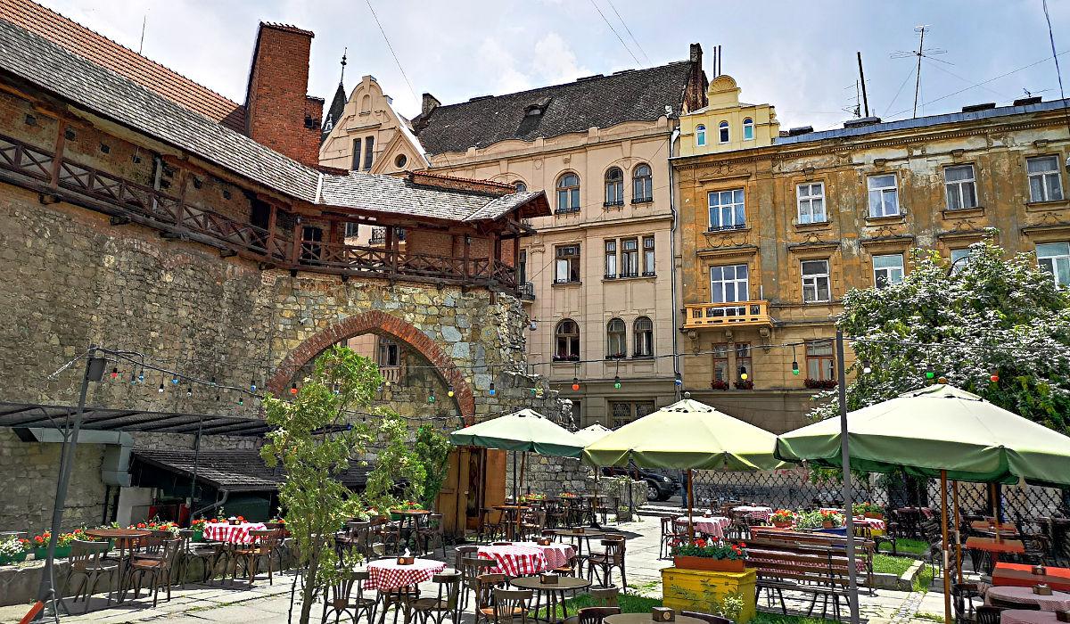Die Stadtmauer Lwiws ist nur zum Teil erhalten. (Foto: Ruti)