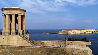 Der ikonische Blick von Maltas Hauptstadt, Valletta, aus aufs Meer. (Foto: Ruti)