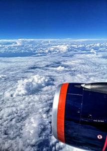 Geschafft - ich sitze in der Aeroflot nach Frankfurt. (Foto: Ruti)