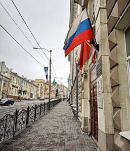 Drei Wochen nach meiner Abreise hatte ich es geschafft. Ich war in Russland angekommen. (Foto: Ruti)