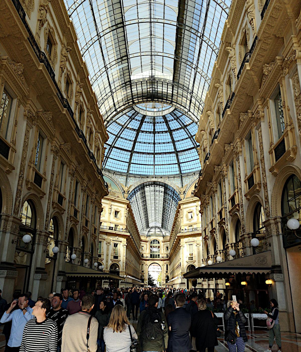 Die Viktor-Emanuel-Passage ist schon ein nettes Kaufhaus. (Foto: Ruti)