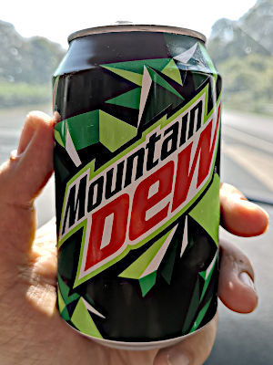 Mountain Dew in Deutschland (Foto: Ruti)