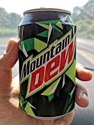 Mountain Dew in Deutschland (Foto: Ruti)