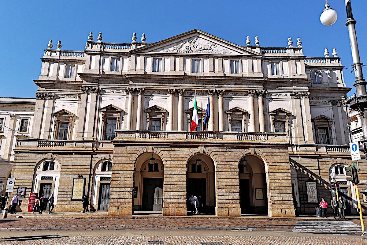 Das berühmte Opernhaus Scala in Mailand. (Foto: Ruti)
