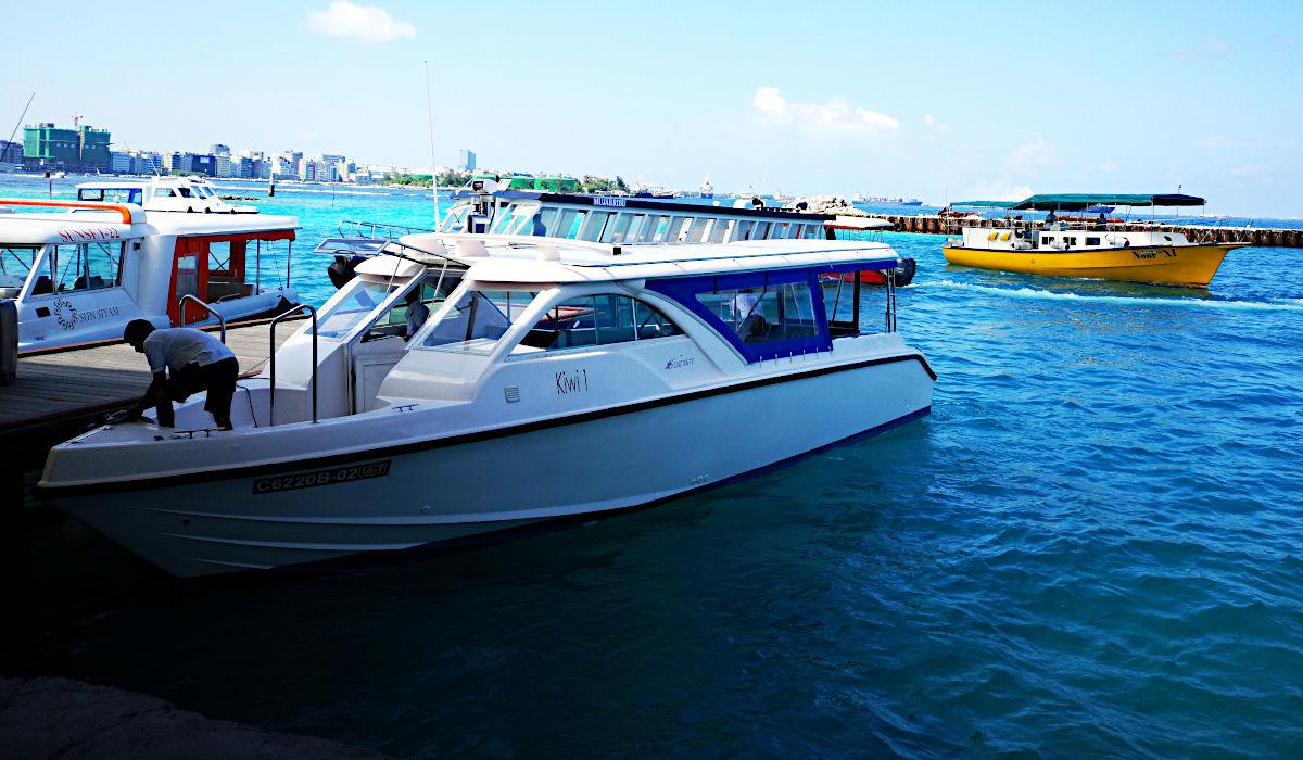 So sehen die Boote, mit denen die Touristen transportiert werden, heute (2018) aus. (Foto: Ruti)