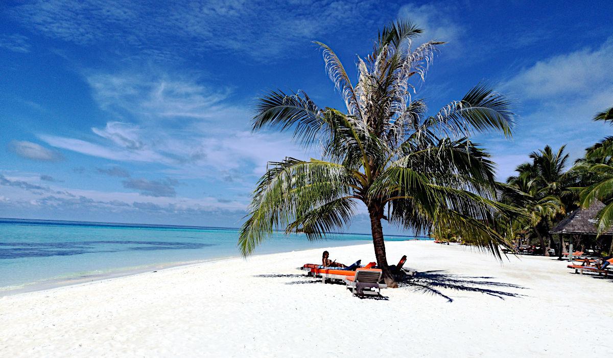 An so einem Strand lässt es sich aushalten. (Foto: Ruti)